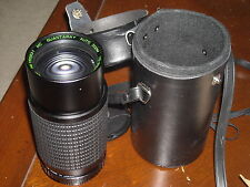 Quantaray one touch zoom 75-200mm F4.5 macro focusing Pentax S mount used