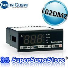 3S NUOVO TERMOSTATO PROPORZIONALE L02DM2 FANTINI COSMI ITALY A 2 USCITE 0÷ 450°C