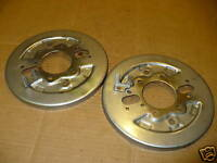 Honda TRX300 4x4 Good Used Front Brake Back Plate Pair