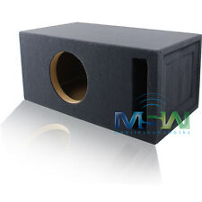 2.0 FT^3 TUNED @ 32Hz SLOT-VENTED CUSTOM MDF BOX ENCLOSURE for 10-INCH SUBWOOFER