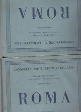 touring club italiano - CTI - attraverso l italia - roma 2 volumi