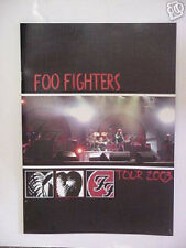 FOO FIGHTERS! 2003 TOUR BOOK NEW MINT RARE!!