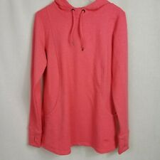 Roots 73 Womens Size Medium Sweater Pink Pullover Hooded