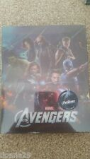 MARVEL THE AVENGERS ASSEMBLE 3D+2D Novamedia LENTICULAIRE STEELBOOK Blu-ray