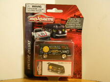 """Majorette 1:64 Deluxe Cars """"Volkswagen T1 Food Truck"""" With Opening Rear Hatch"""