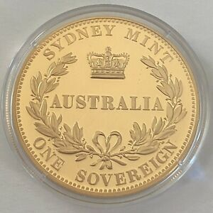 Australia Coinage 1857 Sydney Mint Type II Sovereign Macquarie Mint (3402206/A5)