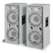 "AUNA DJ PA SPEAKERS 3-WAY PAIR 2x 12"" BASS SET AUDIO SURROUND SOUND SYSTEM PARTY"