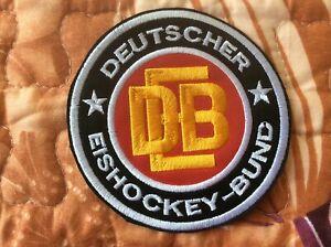 Patch Deutscher Eishockey Bund Germany Ice Hockey Federation