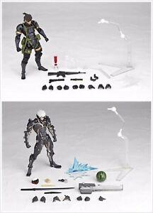 Kaiyodo Revoltech Metal Gear Solid Peace Walker 131 140 Snake Raiden 2 Figure
