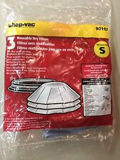 Reusable Paper Disc Filters w/Mounting Ring by Shop Vac 901-07