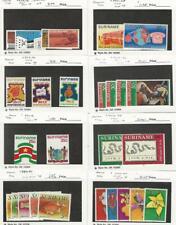 Suriname, Postage Stamp, #417//464 Mint NH & LH, 1974-77, JFZ