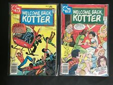 COMIC LOT OF 2 D.C WELCOME BACK KOTTER #5 & 8