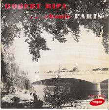 45 T EP ROBERT RIPA *BONJOUR PARIS*