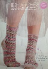 Knitting Pattern for Ladies Pretty Socks.