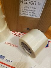 1 Roll 4 X 60 Yds Fiberglass Reinforced Filament Strapping Packing Tape Clear