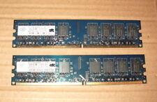 2x1GB Nanya PC2-5300 DDR2 667 240Pin SDRAM Desktop PC Dimm 2GB