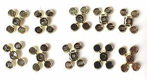 LEGO ®  10 x 4  Goldmünzen ( 10, 20, 30 und 40 Taler ) NEUWARE verschweißt