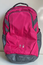 NEW! UNDER ARMOUR PINK TEAM HUSTLE STORM LAPTOP FRIENDLY TRAVEL SCHOOL BACKPACK