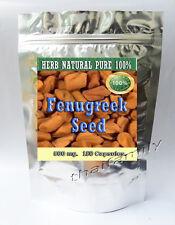 180 Caps.Fenugreek Seed  greek-hay Trigonella foenum-graecum Fenugreek Capsules