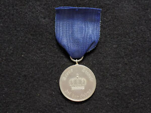 Original WWI German Army Prussian 3rd Class 9 Year Long Service Medal 1913-1920