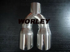 Dual round Exhaust Tip for Mercedes CLK500