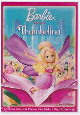 BARBIE THUMBELINA (DVD, 2010) NEW