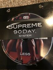 Supreme 90 Day System Legs Replacement Disc ONLY Free Shipping DVD