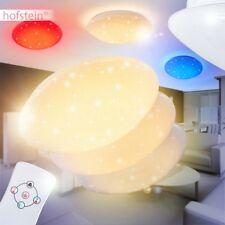 Dimmbare Decken Lampe LED Farbwechsler Sterne Kinder Wohn Zimmer Fernbedienung