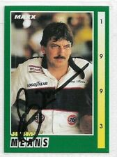 Jimmy Means Signed 1993 MAXX Racing Card #52 NASCAR