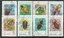 Vietnam Scott#1221-1228(0) Insect 1982