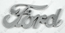 Ford Chrome Stick On Script Emblem