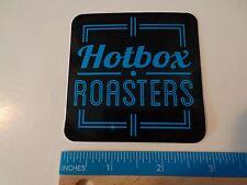 Cool STICKER ~*~ OSKAR BLUES Brewery Hotbox Roasters Coffee ~ Longmont, COLORADO