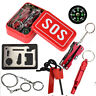 SOS Emergency Tactical Survival Equipment Kit Outdoor Gear Tool Camping Set USA