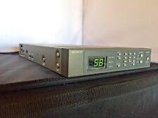SONY TU-1040 TV Tuner Unit AC120V 50/60Hz DC12V 10W 112W MAX.  Video Audio