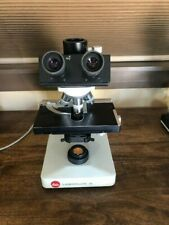 Leitz Laborlux D Desk Top Microscope With 5 Objectives As Shown