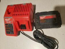Milwaukee battery charger and battery *L@K*