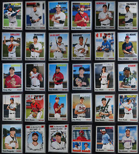 2019 Topps Heritage Minor League Baseball Cards Complete Your Set You Pick
