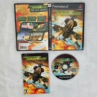 Thunder Strike PS2 PlayStation 2 CIB With Manual Complete Video Game Tested