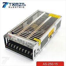 250W 15V 16.7A salida de volumen pequeño único Switching Power Supply