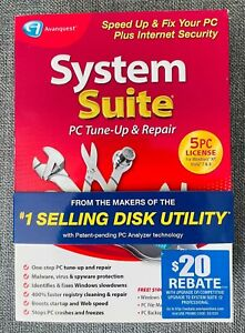Avanquest System Suite PC Tune-UP and Repair