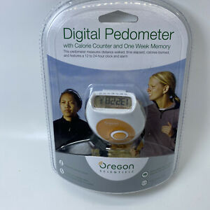 New Factory Sealed OREGON SCIENTIFIC Digital Pedometer Calorie Counter PE326CA