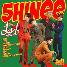 Shinee Nouvel Album 1 of 1 5eme Album avec Photo Book 72page Kpop Musique Coréen