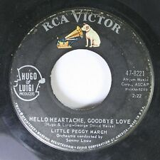 50'S / 60'S 45 Little Peggy March - Hello Heartach, Goodbye Love / Boy Crazy On