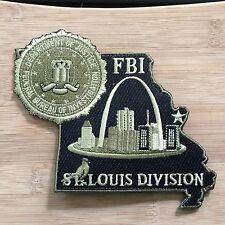 FBI - St Louis Field Office- SecondGEN - OD green - Genuine *Kokopelli Patch*