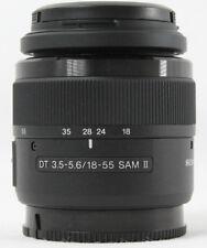 Sony Alpha SAL18552 18-55 mm F/3.5-5.6 SAM II DT Objektiv - Vom Händler #0758