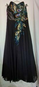 (GLO) Grace Karin- (New) Strapless Long Evening Dress-Size 16