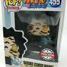 Sasuke Curse Mark Funko Pop Vinyl Figure #455 Naruto Shippuden Limited