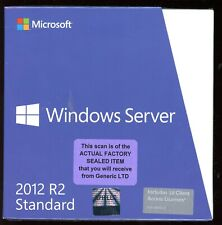 Factory Sealed - P73-05967 Microsoft Windows Server 2012 R2 Standard 10 CAL