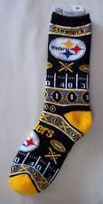 Pittsburgh Steelers Socks Large Size 10  to 13 Super Fan