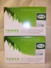 (2) IPW Preserve - Remanufactured Toner Cartridge for HP 2100/2200 ~ 845-96A-ODP